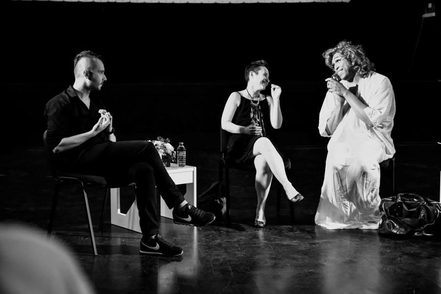 Boryana Rossa, Slavco Dimitrov and Vaginal Davis